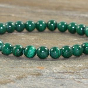 Shop Malachite Jewelry! AAA Grade Malachite Bracelet, 6mm Malachite Jewelry, Yoga Chakra Healing Crystals,EMF Protection, Manifestation-Confidence-Healing the Heart | Natural genuine Malachite jewelry. Buy crystal jewelry, handmade handcrafted artisan jewelry for women.  Unique handmade gift ideas. #jewelry #beadedjewelry #beadedjewelry #gift #shopping #handmadejewelry #fashion #style #product #jewelry #affiliate #ad