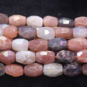 Shop Moonstone Chip & Nugget Beads! Natural Faceted Mixcolor Moonstone Nugget Beads, natural Moonstone Faceted Beads Wholesale Bulk Supply, 15 Inches One Starand | Natural genuine chip Moonstone beads for beading and jewelry making.  #jewelry #beads #beadedjewelry #diyjewelry #jewelrymaking #beadstore #beading #affiliate #ad