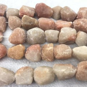 Shop Aventurine Chip & Nugget Beads! Natural Aventurine 18-25mm Raw Nuggets Genuine Loose Red Freeshape Beads 15 Inch Jewelry Supply Bracelet Necklace Material Support | Natural genuine chip Aventurine beads for beading and jewelry making.  #jewelry #beads #beadedjewelry #diyjewelry #jewelrymaking #beadstore #beading #affiliate #ad