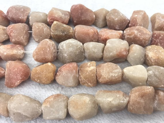 Natural Aventurine 18-25mm Raw Nuggets Genuine Loose Red Freeshape Beads 15 Inch Jewelry Supply Bracelet Necklace Material Support
