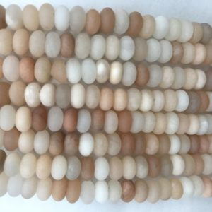 Shop Aventurine Rondelle Beads! Natural Matte Aventurine 6mm – 8mm Rondelle Genuine Pink Loose Beads 15 inch Jewelry Supply Bracelet Necklace Material Support Wholesale   Natural genuine rondelle Aventurine beads for beading and jewelry making.  #jewelry #beads #beadedjewelry #diyjewelry #jewelrymaking #beadstore #beading #affiliate #ad