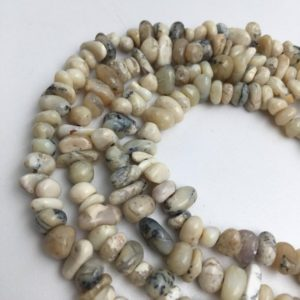 "Shop Opal Chip & Nugget Beads! Natural White Opal Nugget Loose Beads Irregular Shape Different Size Approx 5x10mm, 15.5"" Long Per Strand 