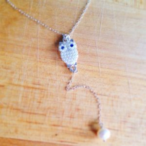 Shop Pearl Pendants! Owl Necklace – Pearl Pendant – Sterling Silver Jewelry – Charm – Simple – Everyday Jewellery | Natural genuine Pearl pendants. Buy crystal jewelry, handmade handcrafted artisan jewelry for women.  Unique handmade gift ideas. #jewelry #beadedpendants #beadedjewelry #gift #shopping #handmadejewelry #fashion #style #product #pendants #affiliate #ad