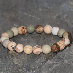 Shop Picture Jasper Bracelets! Picture Jasper Bracelet Handmade 8mm Picture Jasper Beaded Gemstone Bracelet Stack Bracelet Unisex Bracelet Gift Bracelet | Natural genuine gemstone jewelry in modern, chic, boho, elegant styles. Buy crystal handmade handcrafted artisan art jewelry & accessories. #jewelry #beaded #beadedjewelry #product #gifts #shopping #style #fashion #product