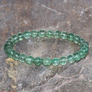 Shop Quartz Crystal Bracelets! Greenberry Quartz Bracelet Handmade Healing 6mm Green Strawberry Beaded Quartz Gemstone Bracelet Stack Gift Bracelet Unisex Bracelet Stone | Natural genuine Quartz bracelets. Buy crystal jewelry, handmade handcrafted artisan jewelry for women.  Unique handmade gift ideas. #jewelry #beadedbracelets #beadedjewelry #gift #shopping #handmadejewelry #fashion #style #product #bracelets #affiliate #ad