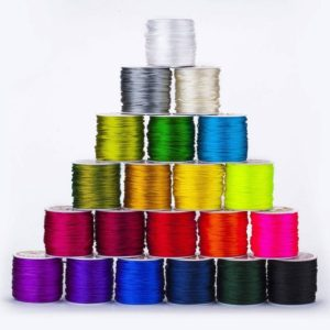 Shop Stringing Material for Jewelry Making! Rat-Tail 2mm Satin Rats Tail Cord, Rope, Ribbon, Trim, Braiding, Quality Fabric and Material, Sewing and Crafts, Neotrims Textiles, Cheap | Shop jewelry making and beading supplies, tools & findings for DIY jewelry making and crafts. #jewelrymaking #diyjewelry #jewelrycrafts #jewelrysupplies #beading #affiliate #ad
