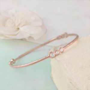Shop Diamond Jewelry! Rose Gold Bangle, Diamond Bracelet, Semi Precious Gemstone Bracelet, Gold Bangle, Stylish Bracelet, White Topaz Bracelet, Organic Bracelet | Natural genuine Diamond jewelry. Buy crystal jewelry, handmade handcrafted artisan jewelry for women.  Unique handmade gift ideas. #jewelry #beadedjewelry #beadedjewelry #gift #shopping #handmadejewelry #fashion #style #product #jewelry #affiliate #ad