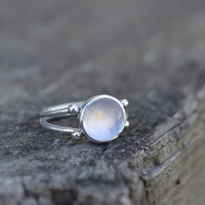 Shop Rose Quartz Rings! Rose Quartz Double Band Ring, Rose Quartz Ring, Rose Quartz, Double Band Ring, Sterling Silver, Quartz Ring, Pink Gemstone Ring, Silver | Natural genuine Rose Quartz rings, simple unique handcrafted gemstone rings. #rings #jewelry #shopping #gift #handmade #fashion #style #affiliate #ad