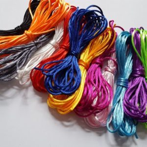 Shop Stringing Material for Jewelry Making! Silky nylon cord, Nylon cord, Jewellery cord, Jewellery making cord, Jewellery making, Nylon, Craft string, Silky nylon | Shop jewelry making and beading supplies, tools & findings for DIY jewelry making and crafts. #jewelrymaking #diyjewelry #jewelrycrafts #jewelrysupplies #beading #affiliate #ad