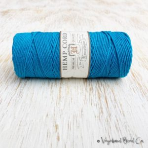 Shop Cord! Turquoise Hemp Cord 1mm / #20 / 205ft Premium Quality Hemp Cord, Bright Blue Hemp Cord, Macrame Cord, Macrame Jewelry, Jewelry Cord (HC033) | Shop jewelry making and beading supplies, tools & findings for DIY jewelry making and crafts. #jewelrymaking #diyjewelry #jewelrycrafts #jewelrysupplies #beading #affiliate #ad