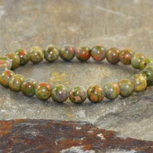 Shop Unakite Bracelets! 6mm Unakite Stacking Bracelet, A Grade, Unakite Jewelry, Yoga Gifts, Opening the Heart Chakra – Self Compassion – Healing the Emotional Body | Natural genuine gemstone jewelry in modern, chic, boho, elegant styles. Buy crystal handmade handcrafted artisan art jewelry & accessories. #jewelry #beaded #beadedjewelry #product #gifts #shopping #style #fashion #product