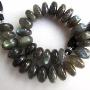 Shop Labradorite Rondelle Beads! AAA Natural Labradorite Smooth Rondelle Beads, 14mm to 15mm And 16mm to 20mm Beads, Labradorite Jewelry, GDS958 | Natural genuine rondelle Labradorite beads for beading and jewelry making.  #jewelry #beads #beadedjewelry #diyjewelry #jewelrymaking #beadstore #beading #affiliate #ad
