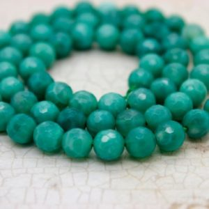 Shop Agate Faceted Beads! Natural Agate, Green Fire Agate Stone Faceted Round Ball Sphere Loose Beads Natural Gemstone (4mm 6mm 8mm 10mm 12mm) – PG53   Natural genuine faceted Agate beads for beading and jewelry making.  #jewelry #beads #beadedjewelry #diyjewelry #jewelrymaking #beadstore #beading #affiliate #ad
