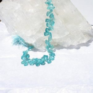 Shop Apatite Bead Shapes! Apatite Faceted Fancy Multi Shape, Beads 9 In. Strand, Translucent Apatite, Natural Stone, Gemstone, Aqua Bead, Faceted Pear Briolette   Natural genuine other-shape Apatite beads for beading and jewelry making.  #jewelry #beads #beadedjewelry #diyjewelry #jewelrymaking #beadstore #beading #affiliate #ad