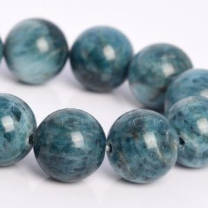 "Shop Apatite Round Beads! 12MM Green Blue Apatite Beads Madagascar A Genuine Natural Gemstone Half Strand Round Loose Beads 7.5"" BULK LOT 1,3,5,10,50 (106835h-091) 