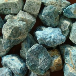 Shop Apatite Shapes! Blue Apatite Chunks R13 | Natural genuine gemstones & crystals in various shapes & sizes. Buy raw cut, tumbled, or polished for making jewelry or crystal healing energy reiki stones. #crystals #gemstones #crystalhealing #crystalsandgemstones #energyhealing #affiliate