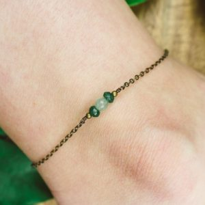 Shop Aventurine Bracelets! Aventurine Ankle Bracelet. Green Aventurine Anklet. Handmade Jewelry. Gemstone Anklet. Crystal Anklet. Sterling Silver Anklet. Gold Anklet. | Natural genuine Aventurine bracelets. Buy crystal jewelry, handmade handcrafted artisan jewelry for women.  Unique handmade gift ideas. #jewelry #beadedbracelets #beadedjewelry #gift #shopping #handmadejewelry #fashion #style #product #bracelets #affiliate #ad