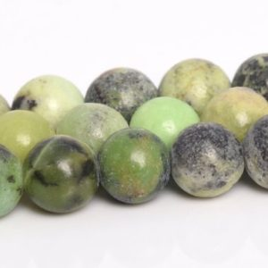 "Shop Chrysoprase Round Beads! 6MM Chrysoprase / Australian Jade Beads Grade A Genuine Natural Gemstone Full Strand Round Loose Beads 15"" BULK LOT 1,3,5,10,50 (106713-081) 
