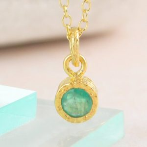 Gold Emerald Necklace, Gold Pendant, Gemstone Pendant, Precious Stone, Gemstone Necklace, Birthstone Necklace, Gold Gemstone, Jewelry Set | Natural genuine Emerald pendants. Buy crystal jewelry, handmade handcrafted artisan jewelry for women.  Unique handmade gift ideas. #jewelry #beadedpendants #beadedjewelry #gift #shopping #handmadejewelry #fashion #style #product #pendants #affiliate #ad
