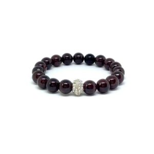 Shop Garnet Bracelets! Garnet bracelet- January birthstone | Natural genuine Garnet bracelets. Buy crystal jewelry, handmade handcrafted artisan jewelry for women.  Unique handmade gift ideas. #jewelry #beadedbracelets #beadedjewelry #gift #shopping #handmadejewelry #fashion #style #product #bracelets #affiliate #ad