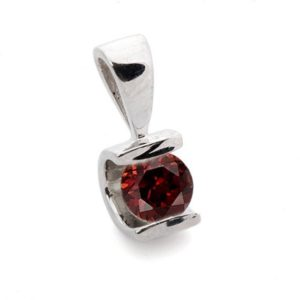 Shop Garnet Pendants! Garnet Pendant 1/2 ct-White Gold Pendant 14K-Garnet necklace-Women Jewelry-Birthstone necklace-Red garnet-Thanksgiving present-Holidays gift | Natural genuine gemstone jewelry in modern, chic, boho, elegant styles. Buy crystal handmade handcrafted artisan art jewelry & accessories. #jewelry #beaded #beadedjewelry #product #gifts #shopping #style #fashion #product