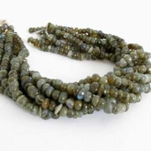 Shop Labradorite Rondelle Beads! 8mm Labradorite Rondelle Beads, Genuine Labradorite, Half Strand Labradorite, 7.5 Inch Strand, Smooth Rondelle Labradorite, Lab201 | Natural genuine rondelle Labradorite beads for beading and jewelry making.  #jewelry #beads #beadedjewelry #diyjewelry #jewelrymaking #beadstore #beading #affiliate #ad