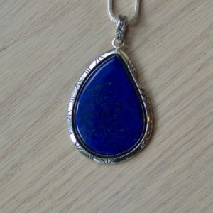 Shop Lapis Lazuli Pendants! Lapis Lazuli Teardrop Pendant // // Lapis Lazuli // Lapis Lazuli Necklace // Lapis Pyrite // Lapis Silver Pendant // Lapis Necklace | Natural genuine Lapis Lazuli pendants. Buy crystal jewelry, handmade handcrafted artisan jewelry for women.  Unique handmade gift ideas. #jewelry #beadedpendants #beadedjewelry #gift #shopping #handmadejewelry #fashion #style #product #pendants #affiliate #ad