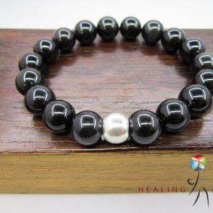 Shop Obsidian Bracelets! Black Obsidian Bracelet Black Obsidian Chakra Bracelet Black Obsidian Healing Bracelet Yoga Meditation Black Obsidian Protection Sagittarius | Natural genuine Obsidian bracelets. Buy crystal jewelry, handmade handcrafted artisan jewelry for women.  Unique handmade gift ideas. #jewelry #beadedbracelets #beadedjewelry #gift #shopping #handmadejewelry #fashion #style #product #bracelets #affiliate #ad