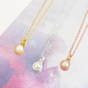Shop Pearl Pendants! Pearl Necklace-Rose Gold Necklace-White Pearl Necklace-Birthstone Necklace-Pearl Pendant-Gold Pearl Necklace-Rose Gold Pearl-Silver Pearl | Natural genuine Pearl pendants. Buy crystal jewelry, handmade handcrafted artisan jewelry for women.  Unique handmade gift ideas. #jewelry #beadedpendants #beadedjewelry #gift #shopping #handmadejewelry #fashion #style #product #pendants #affiliate #ad