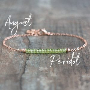 Shop Peridot Bracelets! Peridot Bracelet Gold, Rose Gold, Sterling Silver, Natural Peridot Jewelry, August Birthstone Bracelet, Green Gemstone Bracelets for Women | Natural genuine Peridot bracelets. Buy crystal jewelry, handmade handcrafted artisan jewelry for women.  Unique handmade gift ideas. #jewelry #beadedbracelets #beadedjewelry #gift #shopping #handmadejewelry #fashion #style #product #bracelets #affiliate #ad