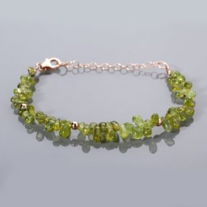 Shop Peridot Bracelets! Peridot Bracelet,Christmas gift sterling silver gemstone bracelet,Party green bracelet,Rose gold plating adjustable bracelet,Gift for her. | Natural genuine Peridot bracelets. Buy crystal jewelry, handmade handcrafted artisan jewelry for women.  Unique handmade gift ideas. #jewelry #beadedbracelets #beadedjewelry #gift #shopping #handmadejewelry #fashion #style #product #bracelets #affiliate #ad