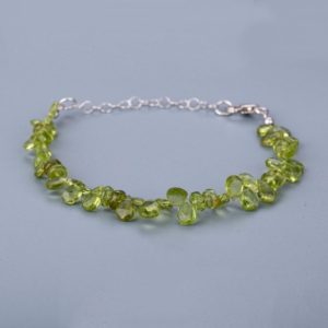 Shop Peridot Bracelets! Peridot Green bracelet birthday gift anniversary gift Gemstone bracelet party bracelet wristlet | Natural genuine Peridot bracelets. Buy crystal jewelry, handmade handcrafted artisan jewelry for women.  Unique handmade gift ideas. #jewelry #beadedbracelets #beadedjewelry #gift #shopping #handmadejewelry #fashion #style #product #bracelets #affiliate #ad