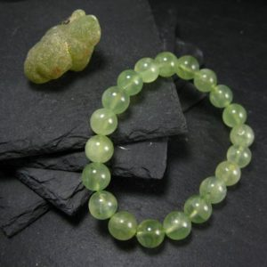 Shop Prehnite Bracelets! Prehnite & Epidote Genuine Bracelet ~ 7 Inches ~ 10mm Round Beads | Natural genuine Prehnite bracelets. Buy crystal jewelry, handmade handcrafted artisan jewelry for women.  Unique handmade gift ideas. #jewelry #beadedbracelets #beadedjewelry #gift #shopping #handmadejewelry #fashion #style #product #bracelets #affiliate #ad