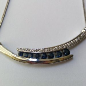 Shop Sapphire Necklaces! large silver pendant sapphire blue color dyed quartz round ornate pendant jewelry gift | Natural genuine Sapphire necklaces. Buy crystal jewelry, handmade handcrafted artisan jewelry for women.  Unique handmade gift ideas. #jewelry #beadednecklaces #beadedjewelry #gift #shopping #handmadejewelry #fashion #style #product #necklaces #affiliate #ad