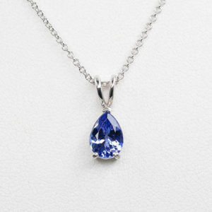 Shop Tanzanite Jewelry! Tanzanite Necklace.14k White Gold Necklace.aaa 8×6 Mm Natural Tanzanite.solitaire Necklace.14k Dainty Necklace.simple Tanzanite Necklace. | Natural genuine Tanzanite jewelry. Buy crystal jewelry, handmade handcrafted artisan jewelry for women.  Unique handmade gift ideas. #jewelry #beadedjewelry #beadedjewelry #gift #shopping #handmadejewelry #fashion #style #product #jewelry #affiliate #ad