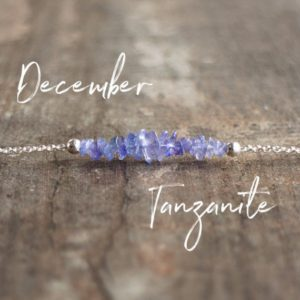Shop Tanzanite Jewelry! Tanzanite Necklaces For Women Raw Crystal Jewelry Rose Gold Sterling Silver December Birthstone Gifts | Natural genuine Tanzanite jewelry. Buy crystal jewelry, handmade handcrafted artisan jewelry for women.  Unique handmade gift ideas. #jewelry #beadedjewelry #beadedjewelry #gift #shopping #handmadejewelry #fashion #style #product #jewelry #affiliate #ad