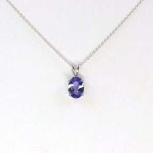Shop Tanzanite Pendants! 8×6 Aaa Natural Tanzanite Necklace.tanzanite Solitaire Necklace.14k White Gold Necklace.simple Women's Necklace.natural Tanzanite Pendant | Natural genuine Tanzanite pendants. Buy crystal jewelry, handmade handcrafted artisan jewelry for women.  Unique handmade gift ideas. #jewelry #beadedpendants #beadedjewelry #gift #shopping #handmadejewelry #fashion #style #product #pendants #affiliate #ad