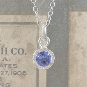 Shop Tanzanite Jewelry! Tanzanite Pendant, Silver Necklace, Silver Gemstone Necklace, Precious Gemstone, December Birthstone, December Birthday Gift, sterling Silver | Natural genuine Tanzanite jewelry. Buy crystal jewelry, handmade handcrafted artisan jewelry for women.  Unique handmade gift ideas. #jewelry #beadedjewelry #beadedjewelry #gift #shopping #handmadejewelry #fashion #style #product #jewelry #affiliate #ad