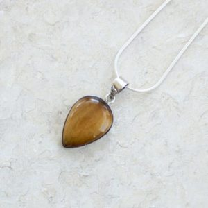 Shop Tiger Eye Pendants! Natural Tiger's Eye Pendant // Tiger's Eye Pendant // Tigers Eye Necklace // Gemstone Pendant // Tiger Eye Jewelery // Tigers Eye Gemstone | Natural genuine Tiger Eye pendants. Buy crystal jewelry, handmade handcrafted artisan jewelry for women.  Unique handmade gift ideas. #jewelry #beadedpendants #beadedjewelry #gift #shopping #handmadejewelry #fashion #style #product #pendants #affiliate #ad