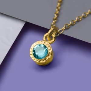 Shop Topaz Pendants! Gold Blue Topaz Pendant, Gold Gemstone Necklace, Gold Pendant, Gold Semi Precious Necklace, November Birthstone, Gold Bridesmaids Necklace | Natural genuine Topaz pendants. Buy crystal jewelry, handmade handcrafted artisan jewelry for women.  Unique handmade gift ideas. #jewelry #beadedpendants #beadedjewelry #gift #shopping #handmadejewelry #fashion #style #product #pendants #affiliate #ad