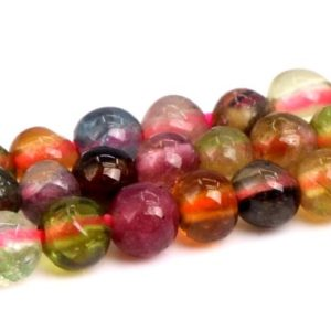 "Shop Tourmaline Round Beads! 2mm Multicolor Tourmaline Beads Grade A+ Genuine Natural Gemstone Full Strand Round Loose Beads 15.5"" Bulk Lot 1, 3, 5, 10 And 50 (102288-492) 