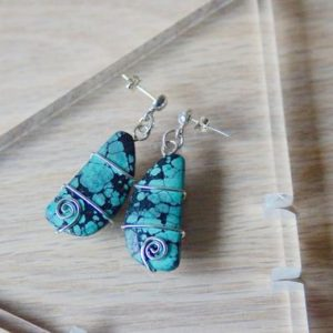 Shop Turquoise Earrings! Turquoise Earrings// Turquoise Earrings Silver  // Turquoise Stud Earrings // Turquoise Drop Earrings // Turquoise Blue Studs // Turquoise | Natural genuine Turquoise earrings. Buy crystal jewelry, handmade handcrafted artisan jewelry for women.  Unique handmade gift ideas. #jewelry #beadedearrings #beadedjewelry #gift #shopping #handmadejewelry #fashion #style #product #earrings #affiliate #ad