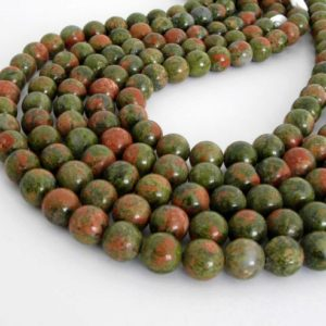 Shop Unakite Round Beads! Unakite Beads, 10mm Round Unakite Beads, Pink And Green Gemstone, 15 Inch Strand, 10mm Smooth Round, Una205 | Natural genuine round Unakite beads for beading and jewelry making.  #jewelry #beads #beadedjewelry #diyjewelry #jewelrymaking #beadstore #beading #affiliate #ad