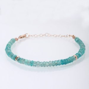 Shop Apatite Bracelets! Green Apatite Bracelet Dainty Stacking Bracelet Green Apatite Beaded Bracelet Christmas Gift For Her Apatite Jewelry Christmas Sale | Natural genuine Apatite bracelets. Buy crystal jewelry, handmade handcrafted artisan jewelry for women.  Unique handmade gift ideas. #jewelry #beadedbracelets #beadedjewelry #gift #shopping #handmadejewelry #fashion #style #product #bracelets #affiliate #ad
