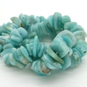 Shop Aquamarine Chip & Nugget Beads! Natural Amazonite Small Nugget Chips Pebble Assorted Size Loose Smooth Natural Rough Gemstone Beads – Full Strand | Natural genuine chip Aquamarine beads for beading and jewelry making.  #jewelry #beads #beadedjewelry #diyjewelry #jewelrymaking #beadstore #beading #affiliate #ad
