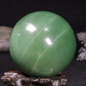 "Shop Aventurine Shapes! 2.8""the Large Aventurine Sphere / green Aventurine Ball / crystal Healing / calm / comfort / metaphysical Energy / special Gift / chakra-70mm-472g#3161 
