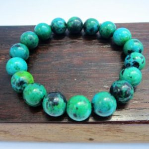Shop Chrysocolla Jewelry! Chrysocolla Bracelet Chrysocolla Bracelet Chrysocolla Healing Bracelet Yoga Meditation Bracelet Taurus Virgo Chrysocolla Chakra Cleanser | Natural genuine Chrysocolla jewelry. Buy crystal jewelry, handmade handcrafted artisan jewelry for women.  Unique handmade gift ideas. #jewelry #beadedjewelry #beadedjewelry #gift #shopping #handmadejewelry #fashion #style #product #jewelry #affiliate #ad