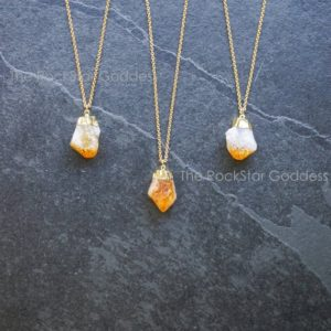 Shop Citrine Necklaces! Men's Citrine Necklace  / Gold Citrine Necklace / Men's Necklace / Men's Jewelry / Gemstone Necklace / Men's Gold Necklace / Mens Gold Chain | Natural genuine Citrine necklaces. Buy handcrafted artisan men's jewelry, gifts for men.  Unique handmade mens fashion accessories. #jewelry #beadednecklaces #beadedjewelry #shopping #gift #handmadejewelry #necklaces #affiliate #ad