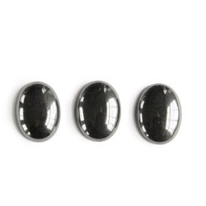 Shop Hematite Cabochons! Hematite Oval Cabochon (30x22mm) | Natural genuine stones & crystals in various shapes & sizes. Buy raw cut, tumbled, or polished gemstones for making jewelry or crystal healing energy vibration raising reiki stones. #crystals #gemstones #crystalhealing #crystalsandgemstones #energyhealing #affiliate #ad
