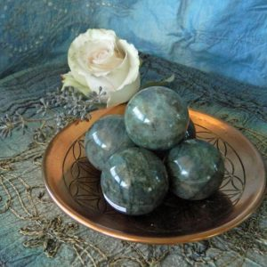 Shop Labradorite Stones & Crystals! Labradorite Sphere With Metal Stand – The Stone For Protection And Intuition | Natural genuine stones & crystals in various shapes & sizes. Buy raw cut, tumbled, or polished gemstones for making jewelry or crystal healing energy vibration raising reiki stones. #crystals #gemstones #crystalhealing #crystalsandgemstones #energyhealing #affiliate #ad